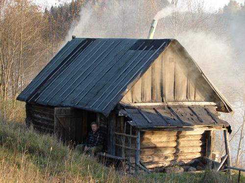 В старых русских банях туалет не делали