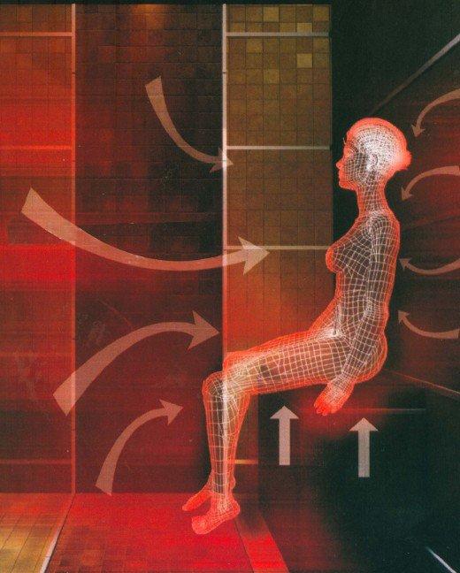 Инфракрасное излучение хорошо прогревает тело