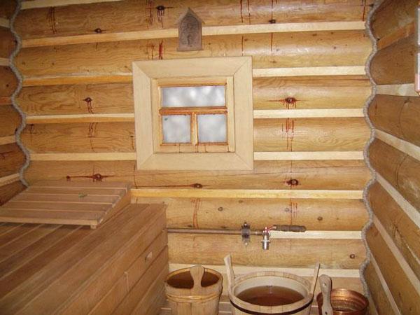 Как сделать деревянные окна в бане
