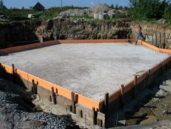 Проект фундаментов коттеджа Мытищинский район