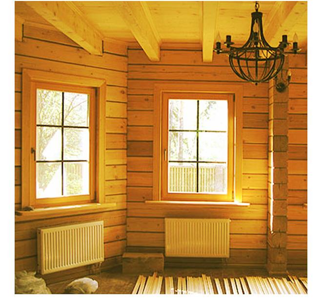 Особенно актуальны окна в комнате отдыха