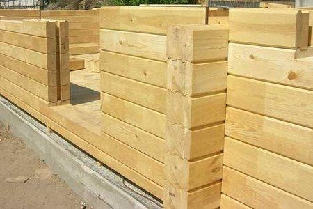Создание деревянных стен бани