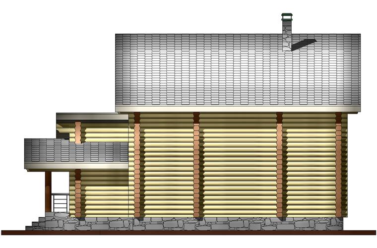 баня 2 фасад