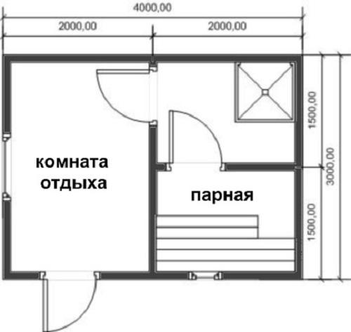 Персональный сайт - Самая маленькая баня на дачу.Садовая баня ... | 473x500