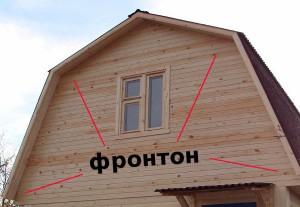 Как сделать фронтоны фото
