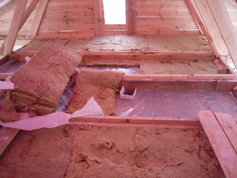 утепление стен в бане изнутри глиной