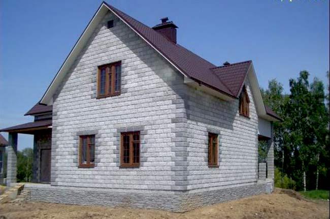 Дом с пеноблоков своими руками фото