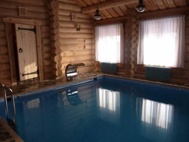 проекты бани с маленьким бассейном на даче