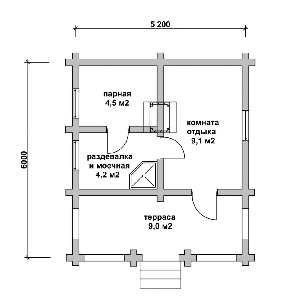 Как строить дом баню своими руками