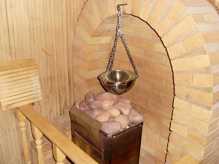 Каменная баня своими руками фото