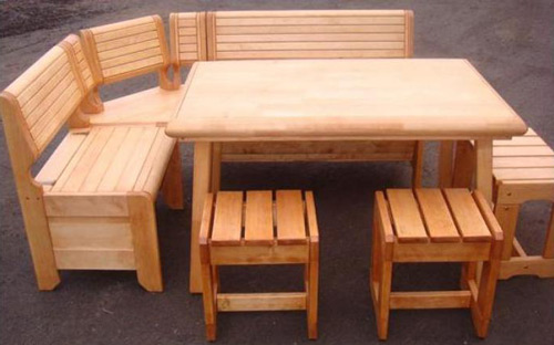 Мебель деревянная своими руками для бани