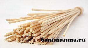 Бамбуковый веник для бани и сауны