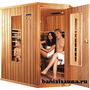 Финские сауны кабины