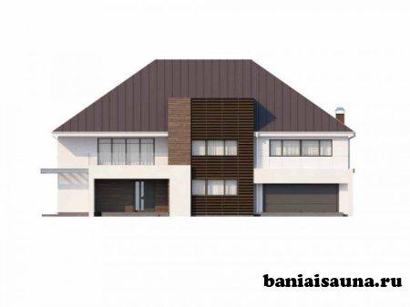 Проект дома с сауной