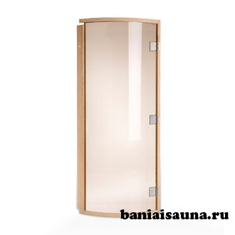 Выбираем двери для бани из липы, осины и стекла