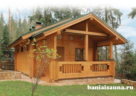 Строительство деревянной бани самому