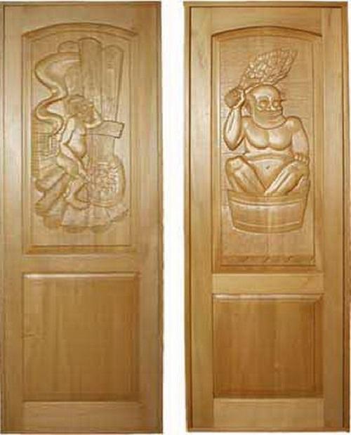 Изготовление дверей для бани в России