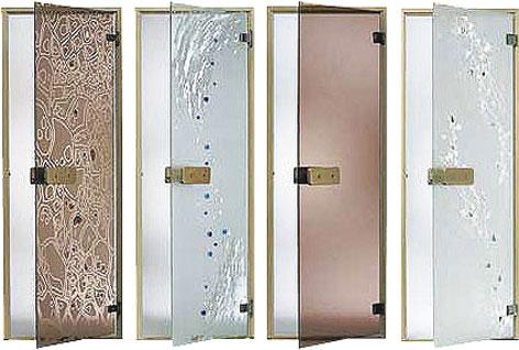 Растет популярность стеклянных дверей