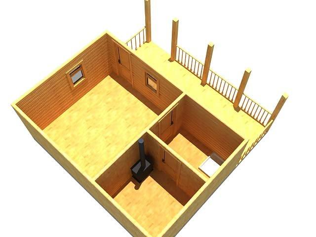 Расчет толщины стен бани