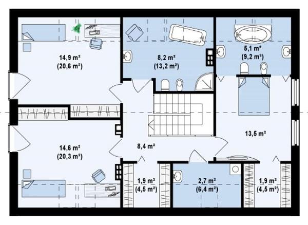 план удобный дом
